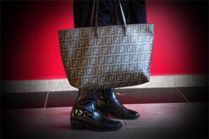 Fendi roll Bag