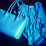 Furla blu elettrico